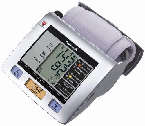 Panasonic EW3122S Upper Arm Blood Pressure Monitor (Silver)