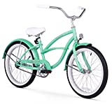 Firmstrong Urban Girl Single Speed Beach Cruiser Bicycle, 20-Inch, Mint Green