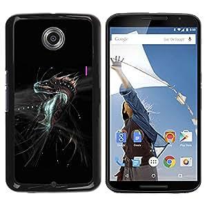 Planetar® ( Fantasy Dragon Monster ) Motorola NEXUS 6 / Moto X / Moto X Pro Fundas Cover Cubre Hard Case Cover