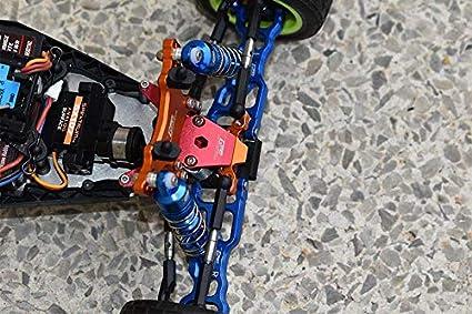 2Pc Set Blue GPM Losi 1//18 Mini-T 2.0 2WD Stadium Truck Upgrade Pi/èces Aluminium Front Lower Arms