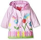 Wippette Baby Girls' Lovely Garden Rainwear, Pink, 24 Months