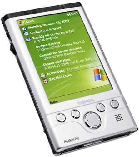 Toshiba e755 Pocket PC with Windows Mobile 2003
