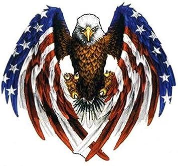 amazon co jp american eagle愛国アメリカ国旗 ビニールステッカー