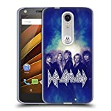 Official Def Leppard Hysteria Classic Photos Soft Gel Case for DROID Turbo 2 / X Force