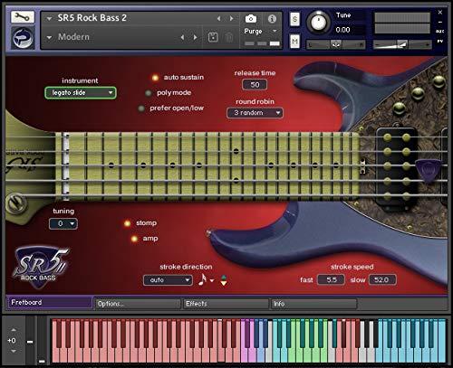 SR5 Rock Bass 2:フレットボード・モニター