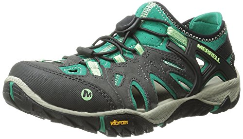 Merrell Womens All Out Blaze Sieve Water Shoe Bright Green 8 M US