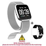 Fitness Tracker HR, Fitness Wristband Watch with Heart Rate Monitor, Waterproof Smart Fitness
