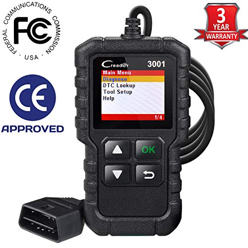 Launch X431 Creader 3001 OBD2 Scanner Automotive Car Diagnostic Tool Check Engine Light O2 Sensor...