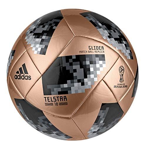 Mundial de Fútbol de Adidas planeador–Balón de fútbol (ce8101), Dorado/Negro, 3