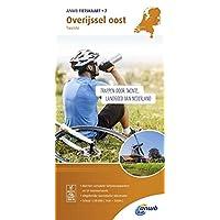 Radwanderkarte 07 Overijssel oost, Twente 1:50 000 (ANWB fietskaart (7))