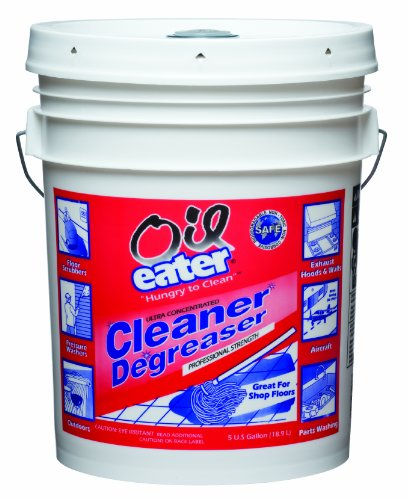 Kafko aod5g35438 oil eater original cleaner degreaser 5 for Garage floor cleaner degreaser