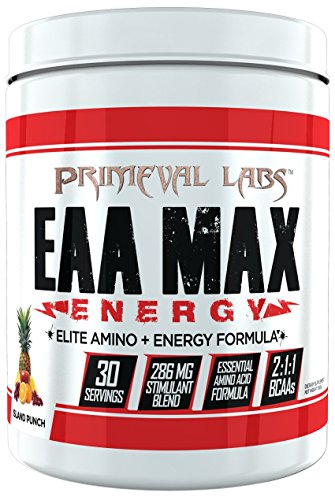 EAA Max Energy by Primeval Labs   Aminos, Energy, Muscle Recovery (Island Punch)