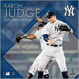 Yankees Calendar 2020 New York Yankees Aaron Judge 2020 Calendar: Inc. Lang