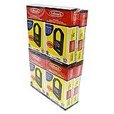Fullmark N904BK High Density and Seamless Nylon Printer Ribbon compatible replacement for Panasonic KX-P1124, KX-P145, Black, 8-pack