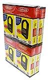 Fullmark N904BK High Density and Seamless Nylon Printer Ribbon compatible replacement for Panasonic KX-P1124 KX-P145 Black 8-pack