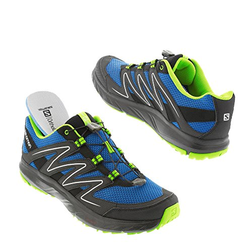 Salomon , Chaussures de course pour homme bleu bleu/gris