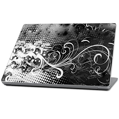 驚きの値段 MightySkins Protective - Durable and Unique Vinyl wrap cover MightySkins Skin (MISURLAP-Black for Microsoft Surface Laptop (2017) 13.3 - Black Flourish White (MISURLAP-Black Flourish) [並行輸入品] B0789823VG, DJ機材専門店PowerDJ's:31b1ecd3 --- senas.4x4.lt