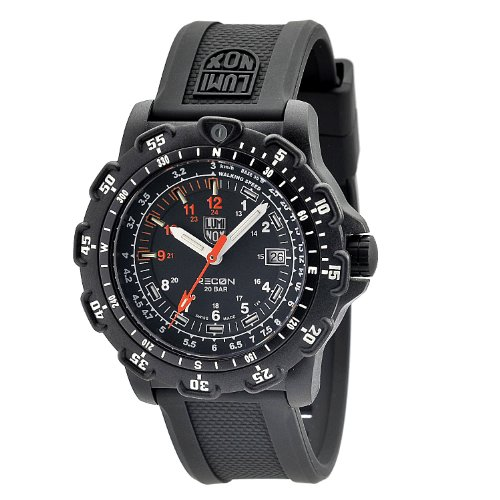 Luminox Men's 8821.KM Recon Pointman Black, Rubber Band, With Multi Color Accents Watch by Luminox (Image #1)