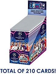 2018-19 Topps Match Attax Champions League Cards - 30-Pack Box (7 Cards per Pack) (Total of 210 Cards) Look fo