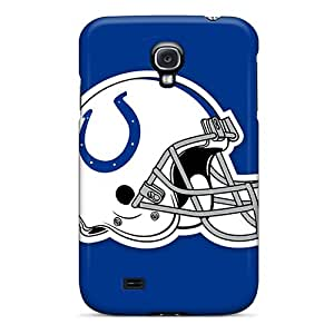 For Galaxy S4 Tpu Phone Case Cover(indianapolis Colts Helmet)