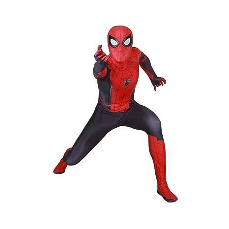 PIAOL Traje De Cosplay Traje Adulto Niños Spider Man Disfraz ...