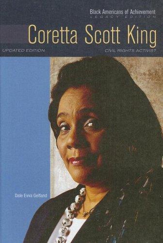 Coretta Scott King: Civil Rights Activist (Black Americans of Achievement (Hardcover))