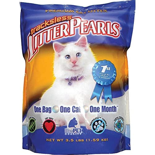on sale Ultra Pet Tracksless Litter Pearls, 3.5-Pound Bags (Pack of 2)