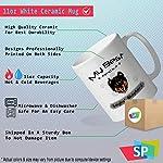Custom Funny Coffee Mug Coffee Cup My Best Friend Is English Shepherd Dog White Ceramic Tea Cup 11 OZ Design Only 7