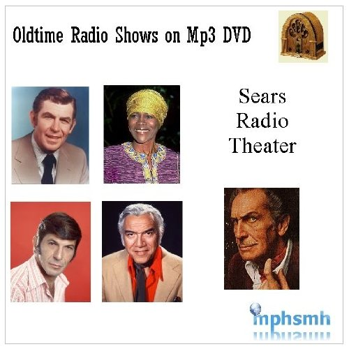 SEARS RADIO THEATER Old Time Radio (OTR) series (1979) mp3 DVD 107 episodes