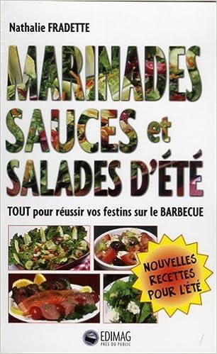 Livre gratuits en ligne Marinades Sauce et Salades d Ete pdf