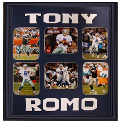 Encore Select 341-34 NFL Dallas Cowboys Tony Romo 9-Photo Collage, 30-Inch by 34-Inch by Encore