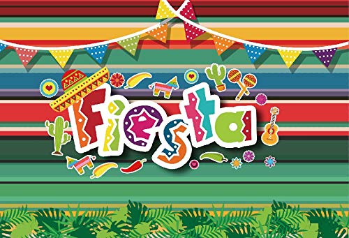 Laeacco Fiesta Backdrops 5x3ft Vinyl Photography Backgrounds