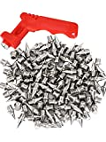 Maxdot 150 Pieces 1/4 Inch Track and Cross Country Spikes Shoe Replacement Spikes with 1 Piece Spike Wrench