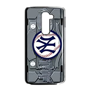 Hoomin Abstract New York Yankees LG G2 Cell Phone Cases Cover Popular Gifts