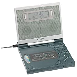 Sony ICF-CD2000 CD Clock Radio with FM/AM Radio and Backlit Display (Discontinued by Manufacturer)