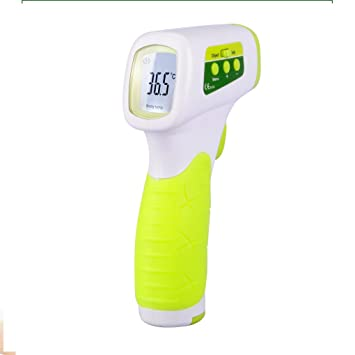 Onepeak Muti-fuction Baby Adult Digital IR Termometer Infrared Forehead  Body Non-Contact 9bc9c650add58
