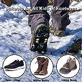 U UZOPI Ice & Snow Grips, Over Shoe/Boot Traction