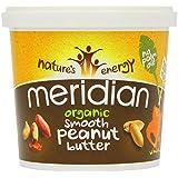 Meridian - Organic Smooth Peanut Butter - 1Kg