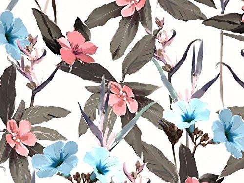 Print Sateen Dress - John Kaldor Floral Print Cotton Sateen Dress Fabric Nude - per metre