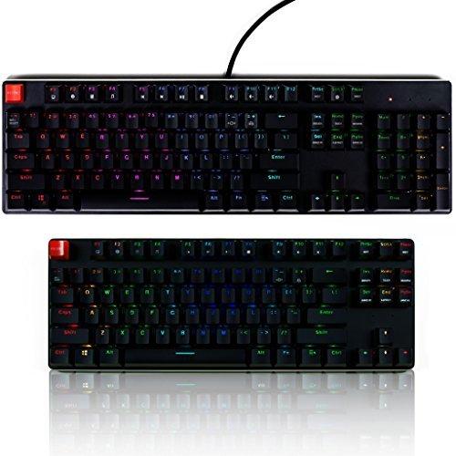 Glorious Modular Mechanical Gaming Keyboard - Full Size (104 Key) - RGB LED Backlit Brown Switches Hot Swap Switches (Black)(GMMK-BRN) [並行輸入品] B07DZRCWR8