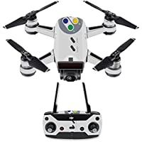 Skin for DJI Spark Mini Drone Combo - Retro Gamer 1  MightySkins Protective, Durable, and Unique Vinyl Decal wrap cover   Easy To Apply, Remove, and Change Styles   Made in the USA