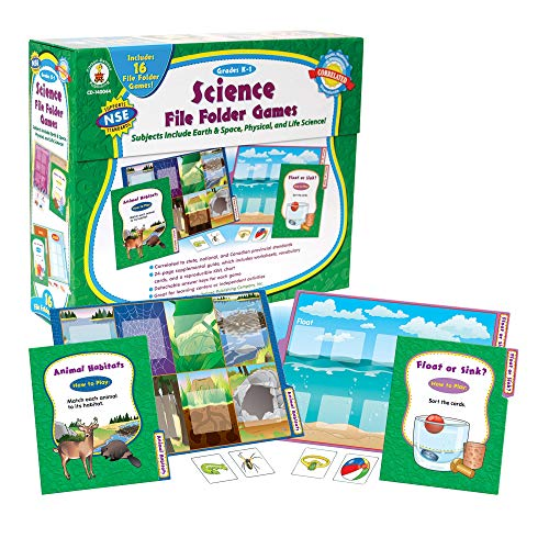 Carson-Dellosa CD-140044 Science File Folder Games File Folder Game, Grades K-1]()