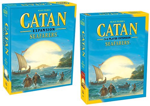 Catan: Seafarers Game Expansion 5th Edition with Catan: Seafarers 5&6 Player Extension 5th Edition