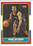 Russell Westbrook Oklahoma City Thunder 2008-09 Fleer 1986 Retro Rookie Basketball Card #166