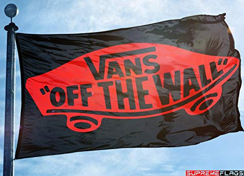 Vans Shoes Skateboards Flag Banner 3x5 ft Off The Wall -