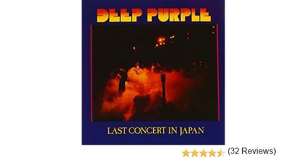 Last Concert In Japan : Deep Purple: Amazon.es: Música