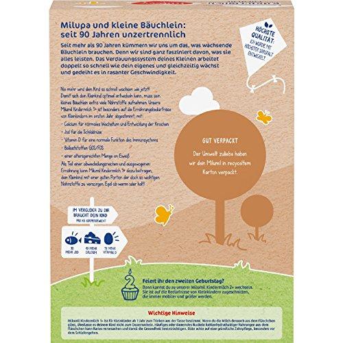 Milupa Milumil leche para niños de 1 año 550g, paquete de 5 (5 x 550g): Amazon.es: Alimentación y bebidas