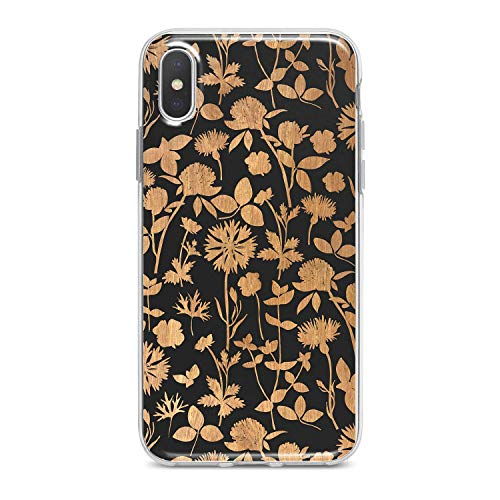- Lex Altern TPU Case for iPhone Apple Xs Max Xr 10 X 8+ 7 6s 6 SE 5s 5 Branch Leaves Soft Protection Flexible Slim fit Clear Lightweight Cover Blossom Design Wildflower Gift Smooth Print Girl Flower