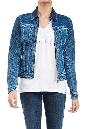 Salsa - Veste en jean avec tricot - Femme
