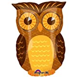 Owl party mylar balloon 18 inch (MULTI, 1) by Anagram